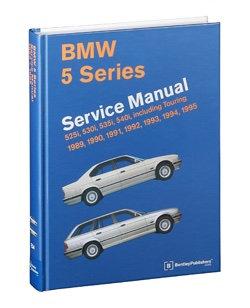 BMW E34 5 series service maintenance manual