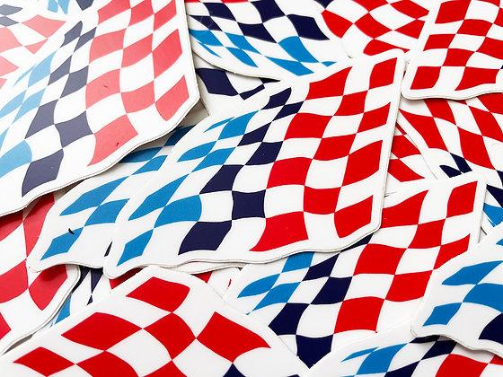 Motorsport Flag Stickers