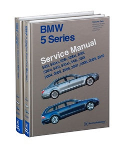 BMW E60 E61 5 series service maintenance manual