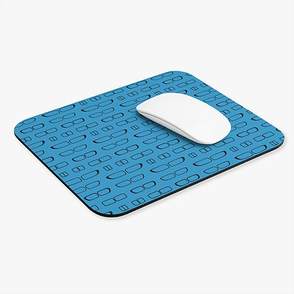 Grill Evolution Mouse Pad, Blue