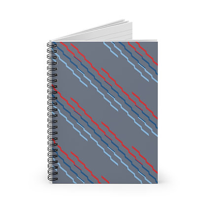 Evolution Gray Notebook