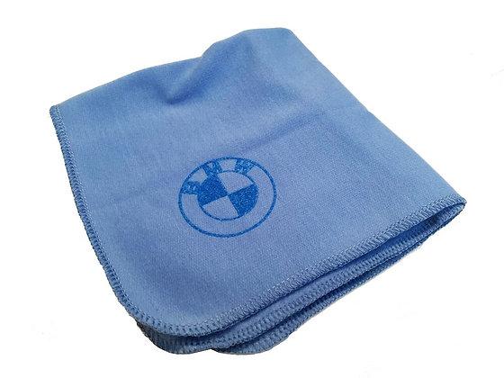 BMW blue toolkit polishing cloth
