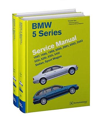 BMW E39 5 series service maintenance manual