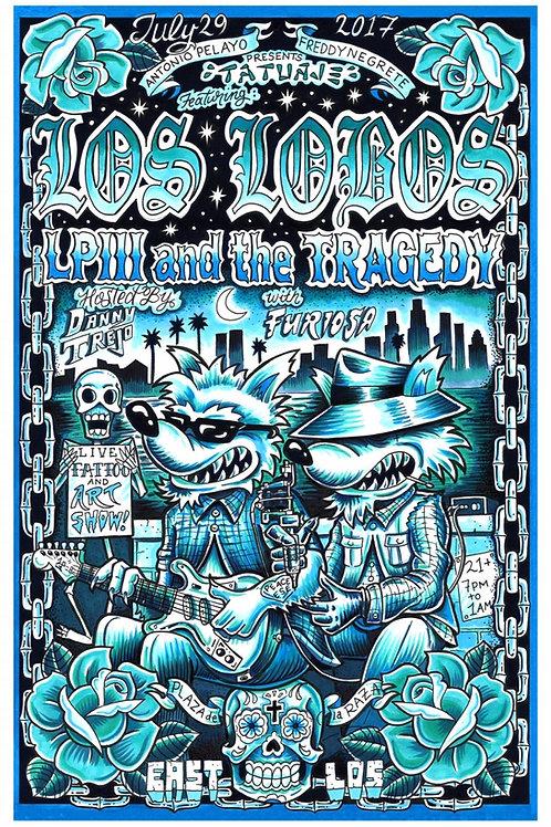 TATUAJE LOS LOBOS LP3 AND THE TRAGEDY BLUE VARIENT