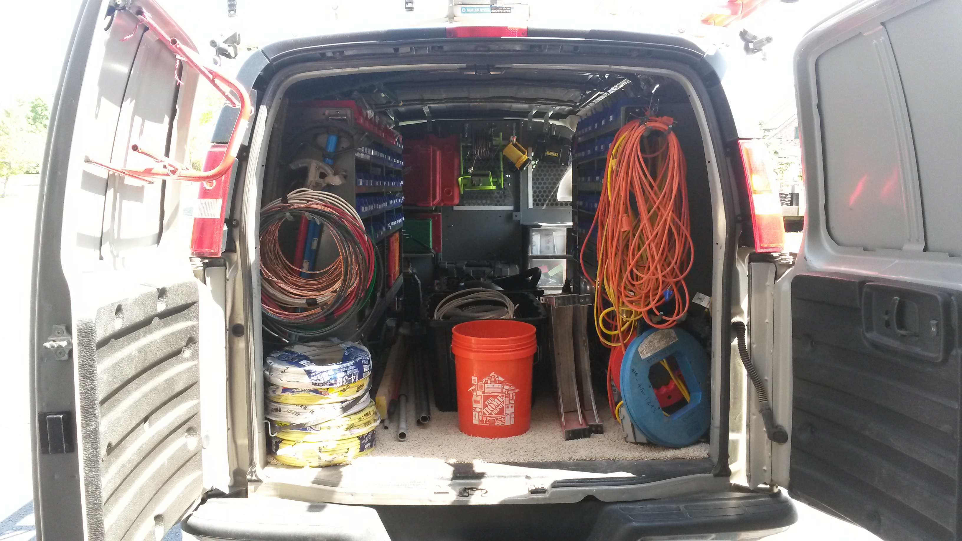 Fully Stocked Service Van