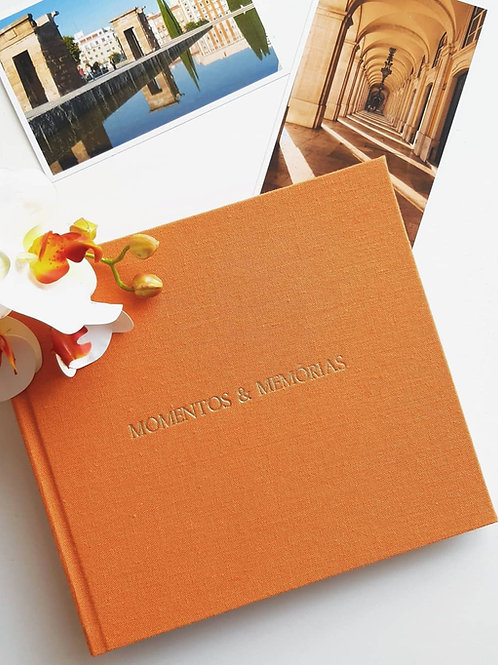 Álbum Momentos & Memórias | 30x30 (80 páginas)