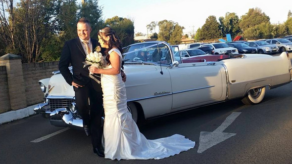 Chris & Emily's Cadillac Wedding