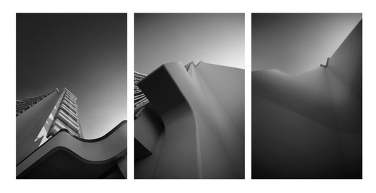 shape and tone triptic.