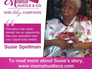 Week 1: Susie Spellman