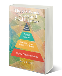 The 30-Week Project and Goal Planner Paperback On Amazon I Teal Kimball