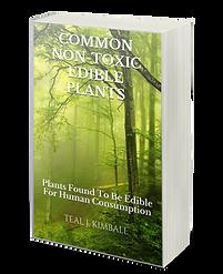 Common Non-Toxic Edible Plants Paperback On Amazon