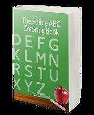 The Edible ABC Coloring Book On Amazon