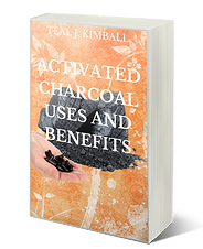 Activate Charcoal Benefits and Uses Book On Amazon