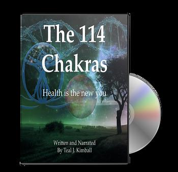 The 114 Chakras CD By Teal Kimball