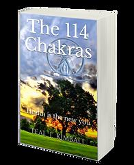The 114 Chakras Book On Amazon