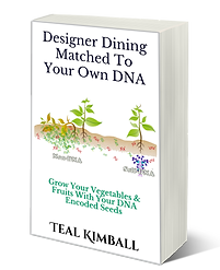 Disigner Dining Matced To Your Own DNA Book On Amazon
