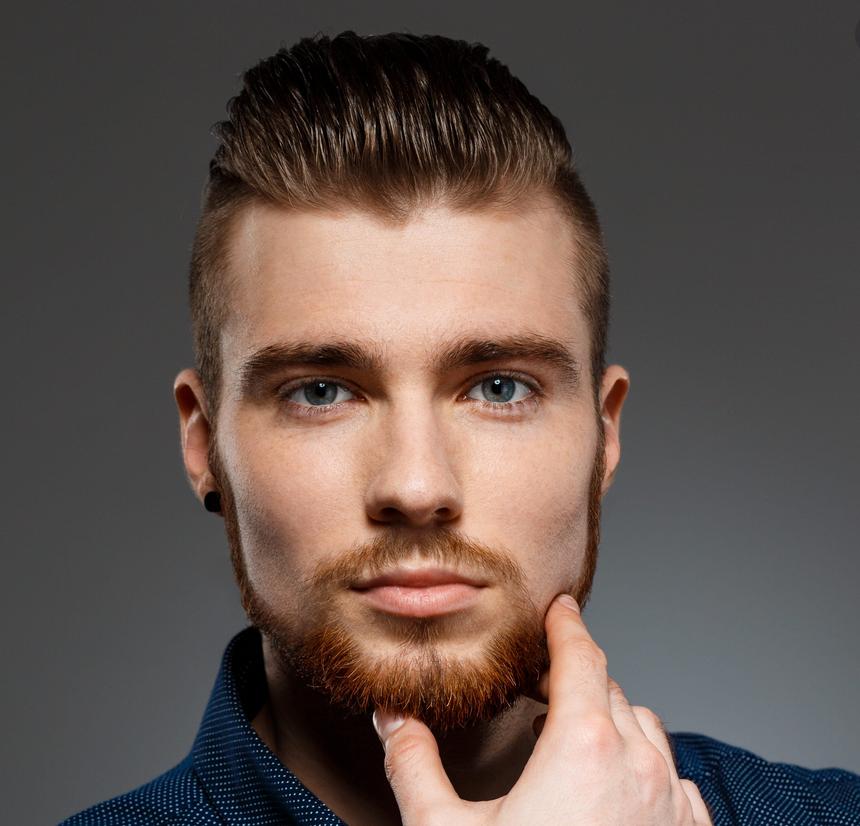 Caucasian/White Men Hair Cut