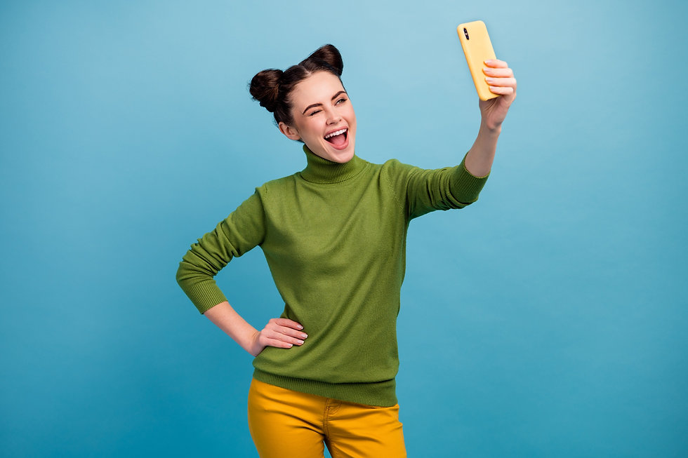 photo-of-funny-flirty-lady-hold-telephone-hand-taking-making-selfies-shooting-for-blog-winking-eye-f