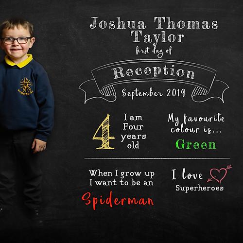 Josh's school photos