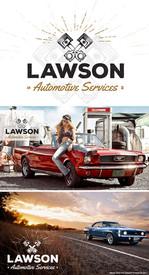 Lawson Auto Logo Design