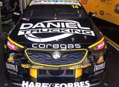 Daniel Trucking at GC600 - Brad Jones Racing