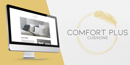 Logo design - Comfort Plus Cushions
