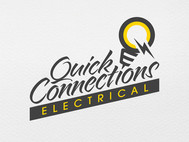 Quick Connections - Electrical Company Logo Design