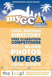 myGC.com.au flyer design