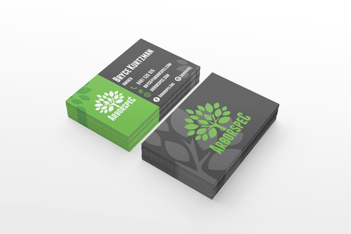 Arborspec Logo and Business Card Design