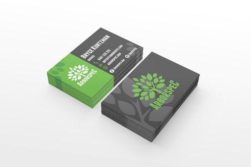 Arborspec Logo and Business Card Design