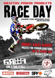 GPPmx Race Day Poster Design