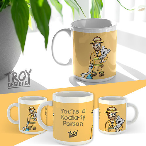 Koala-ty Mug - Firefighter Donation Mug