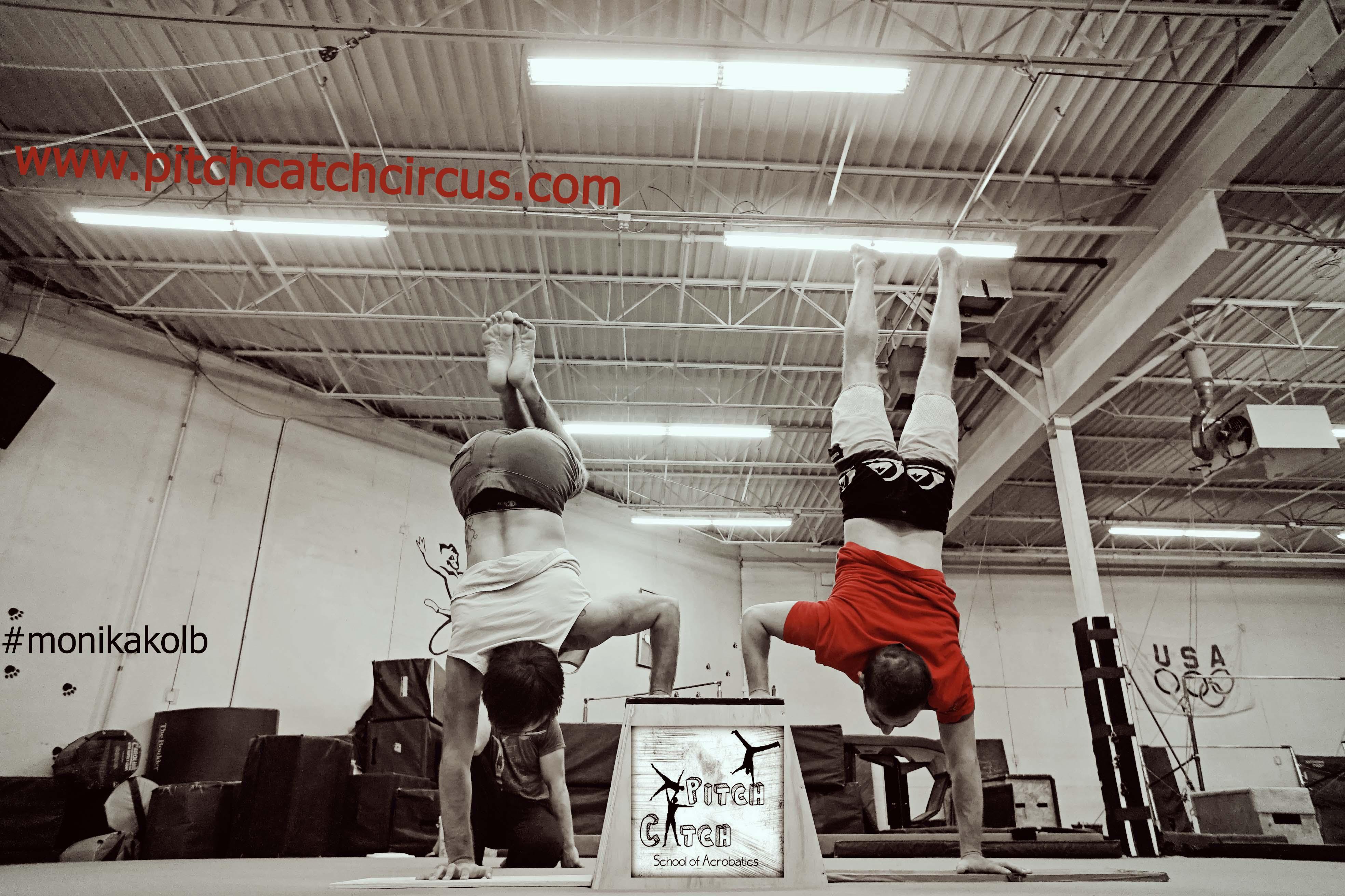 Handstand-Off