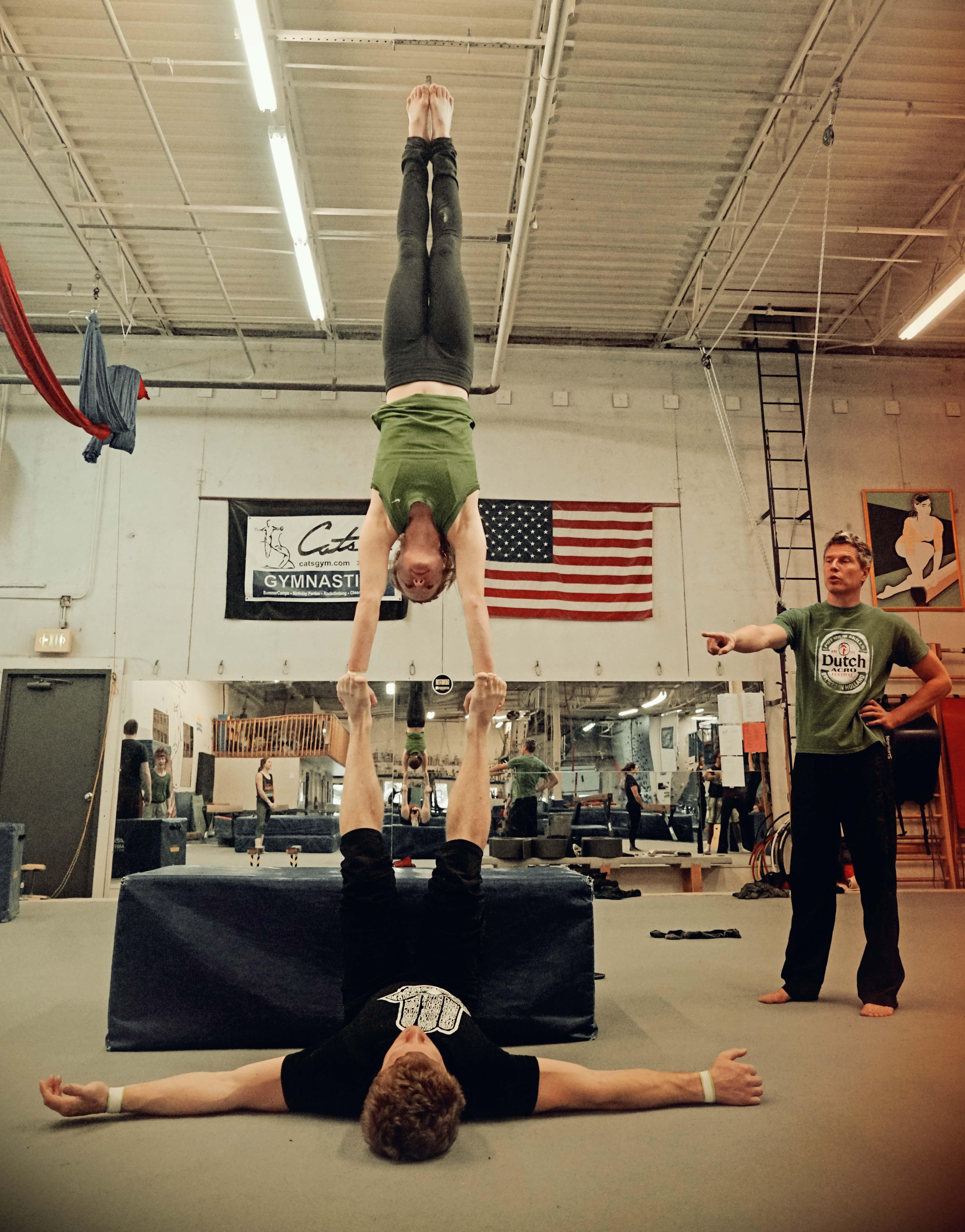 Handstand on Feet