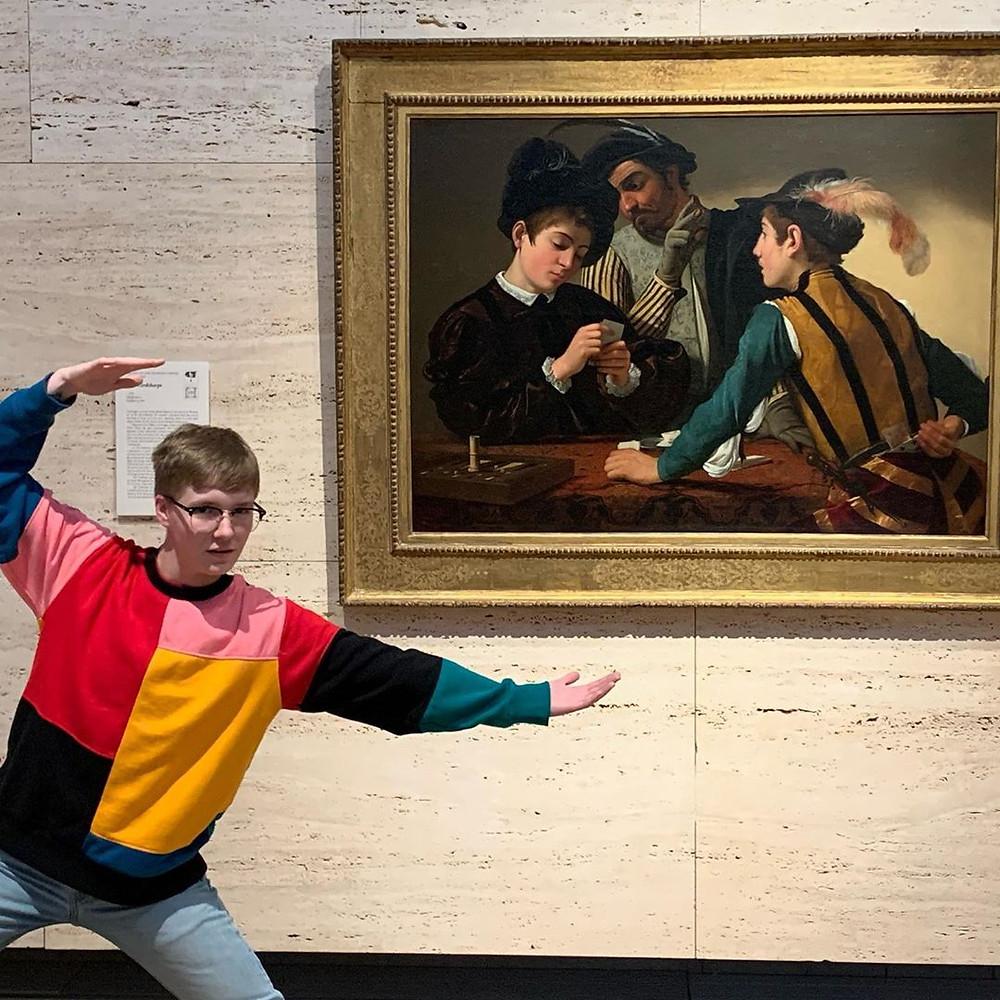 KimbellArt Museum Visitor
