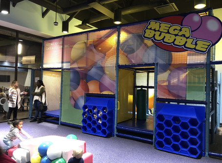 """Indoor Play Place: """"Bubble Land"""" at Gateway Church Fort Worth"""