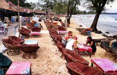 sihanoukvilleビーチ