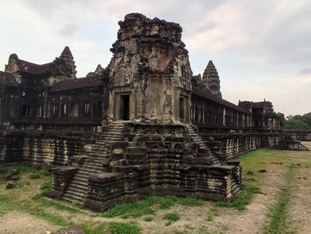 カンボジア アンコールワットプラネタリウム映像の撮影