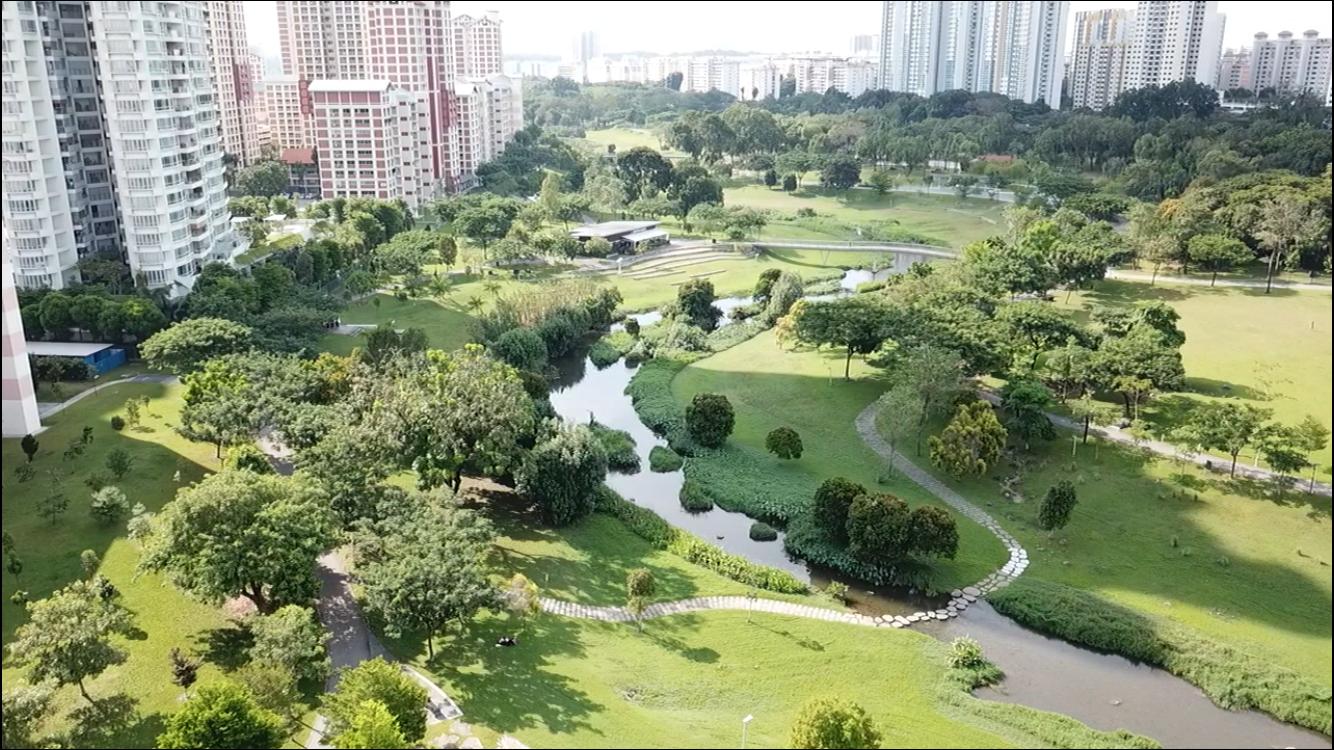 シンガポール住宅地