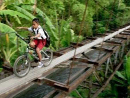 SDGs 調査 世界の子供の通学路