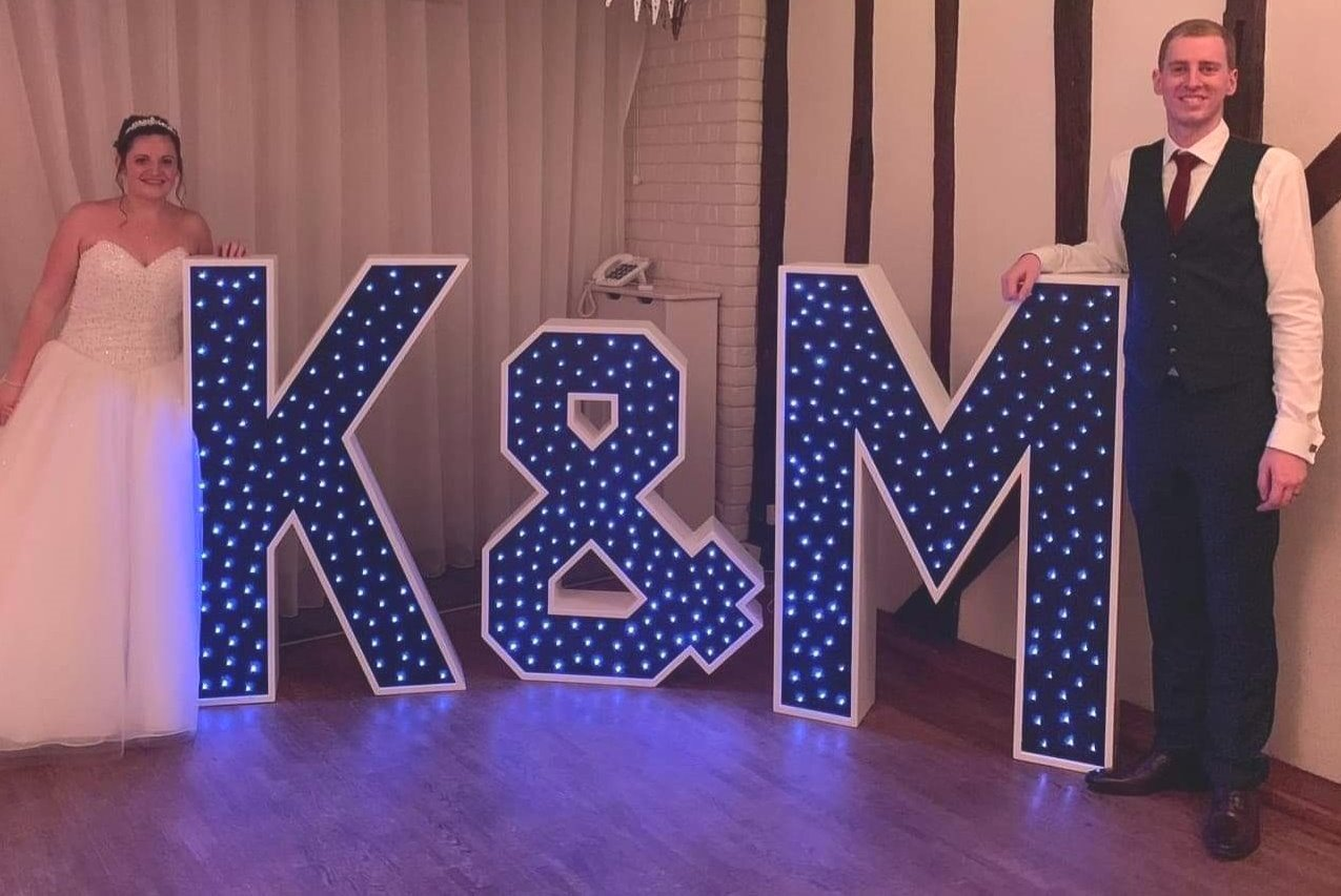 Initial & Initial Light Up Letters