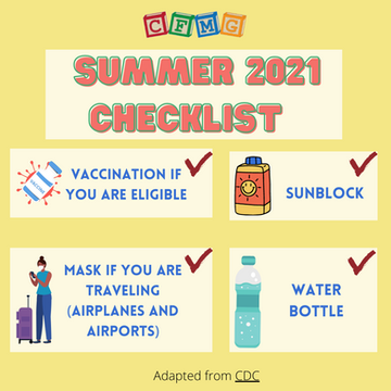 Let's stay safe this Summer!