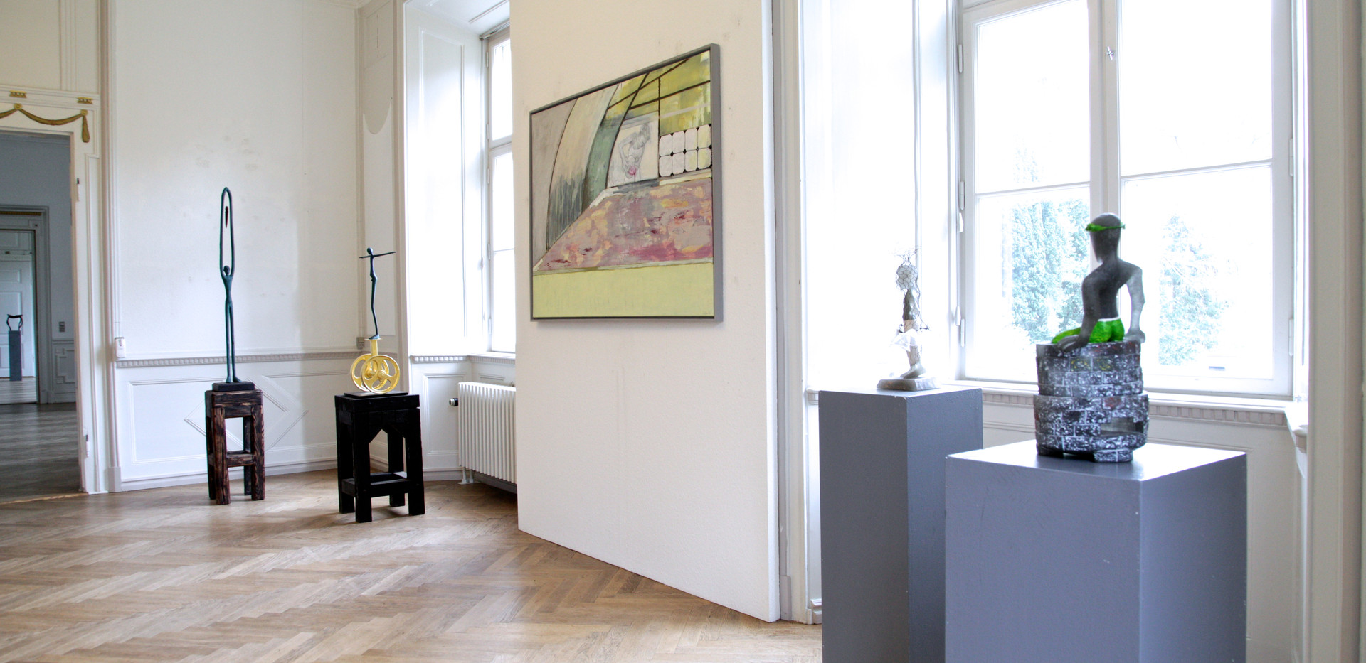 Künstler:  Arno Falk Wübke Rolf-Grigull Hartman Greb