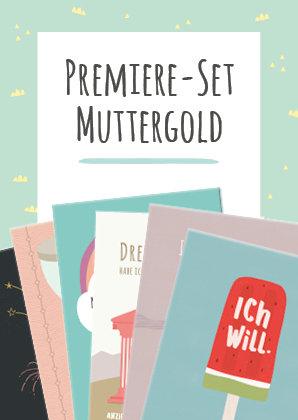 Premiere-Set Muttergold
