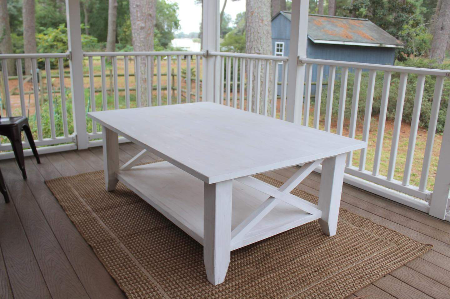 Outdoor Deck Table