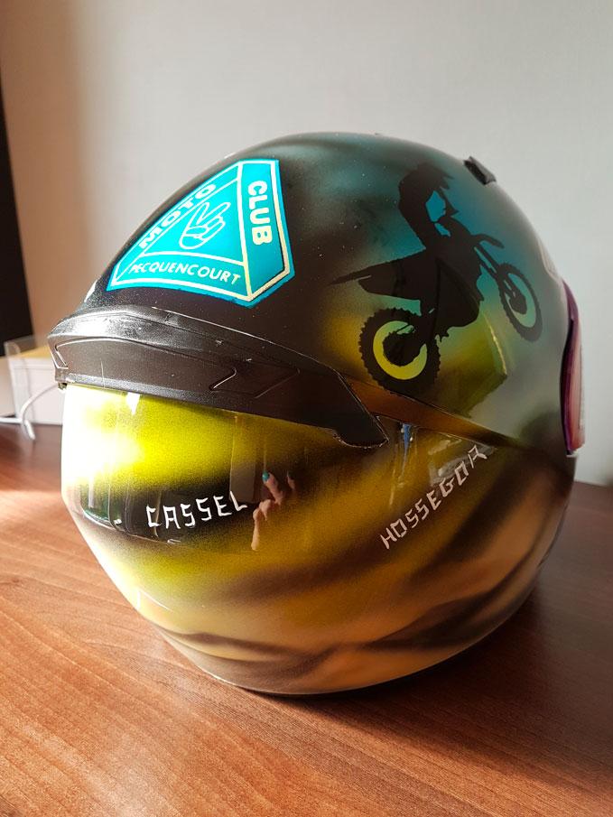 Casque Moto Club Pecquencourt