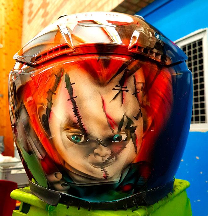 Casque Personnalisé Chucky