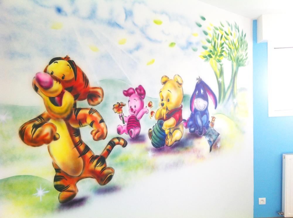Graff Chambre d'enfant tigrou