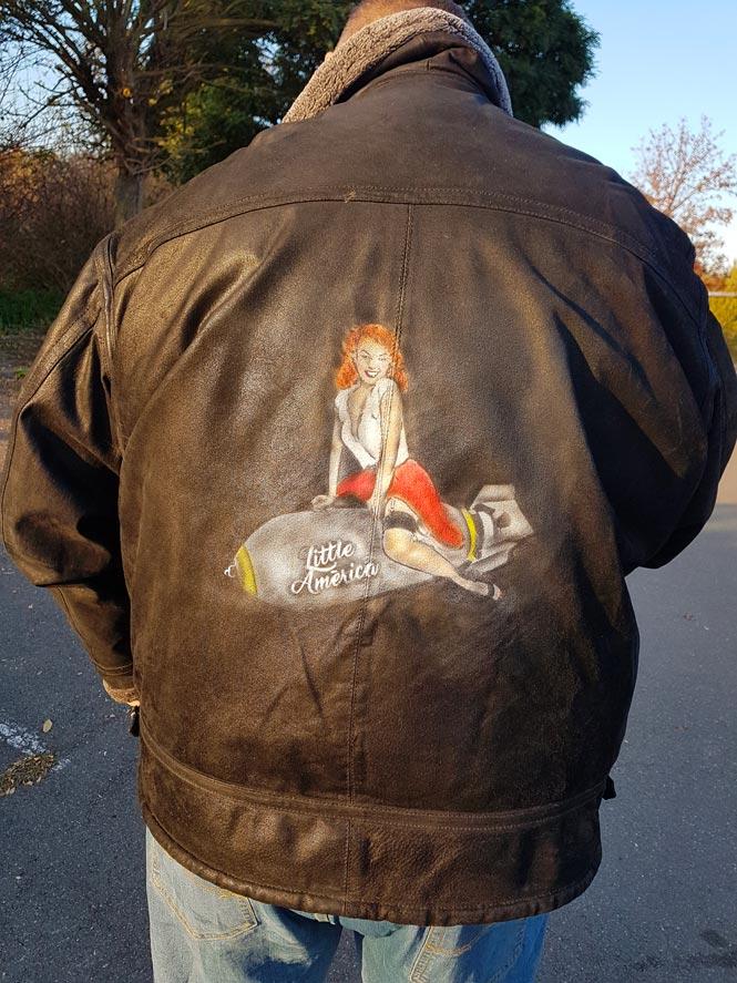 Veste cuir personnalisée