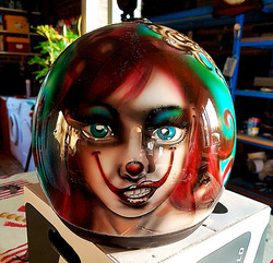 casque-personalisee-clown